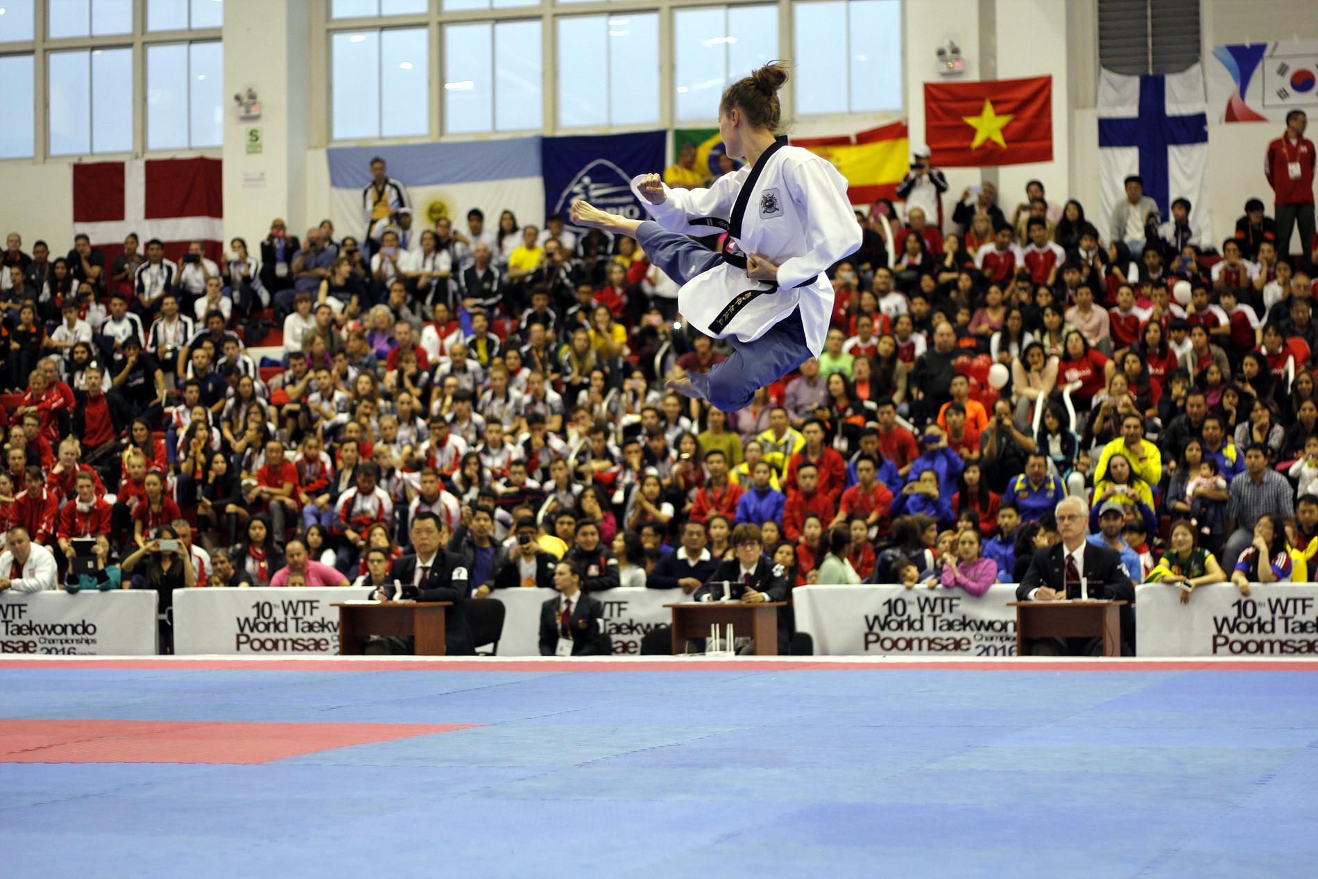 Free-style Poomsae Taekwondo
