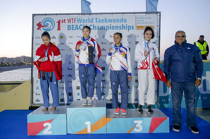 Recognized Poomsae Individual F Under 17